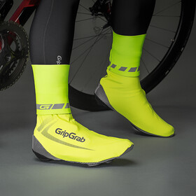 GripGrab CyclinGaiter Hi-Vis Rainy Weather Ankle Cuff fluo yellow